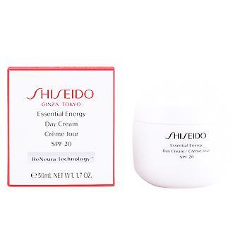 Dia de energia essenciais Shiseido creme Spf20 50ml para mulheres