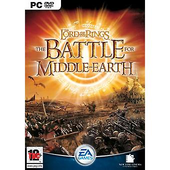 De Lord of the Rings The Battle for Middle-earth (PC DVD)