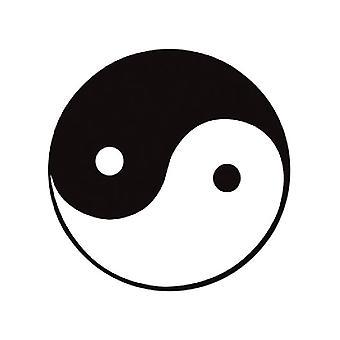 Yin-Yang-Ausschnitt