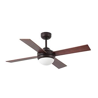 Ceiling fan light MINI ICARIA Rust 107 cm / 42