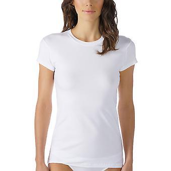 Mey Women 26501 Women's Cotton Pure Solid Colour Short Sleeve Top