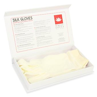 100% Silk Skin Rejuvenating Gloves
