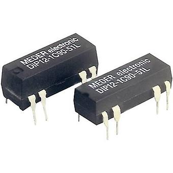 Reed relay 1 change-over 24 Vdc 0.5 A 10 W DIP 8 StandexMeder Electronics DIP24-1C90-51L