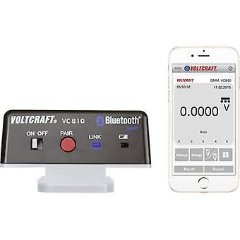 VOLTCRAFT VC810 VC810 Bluetooth® adapter , Compatible with (details) VC830, VC850, VC870, VC880, VC890 VC810