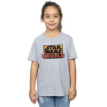 Star Wars Girls Rebels Logo T-Shirt