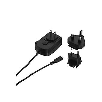 Blackberry International Micro USB Charger with Adapters for EU / UK / US - Univ