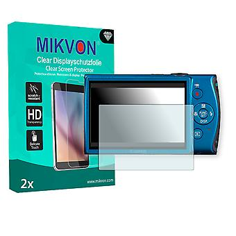 Canon PowerShot ELPH 310 HS Screen Protector - Mikvon Clear (Retail Package with accessories)