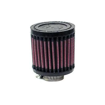 K&N R-1040 Universal Clamp-On Air Filter: Round Straight; 1.063 in (27 mm) Flange ID; 3 in (76 mm) Height; 3 in (76 mm)