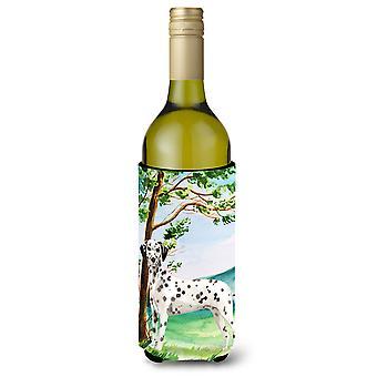 Under the Tree Dalmatian Wine Bottle Beverage Insulator Hugger