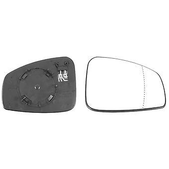 Oikea peili lasi (lämmitetty) & pidike Renault MEGANE Hatchback 2008-2015