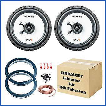 PG Audio loudspeaker built-in set front suitable for BMW 3 E46 from 1998