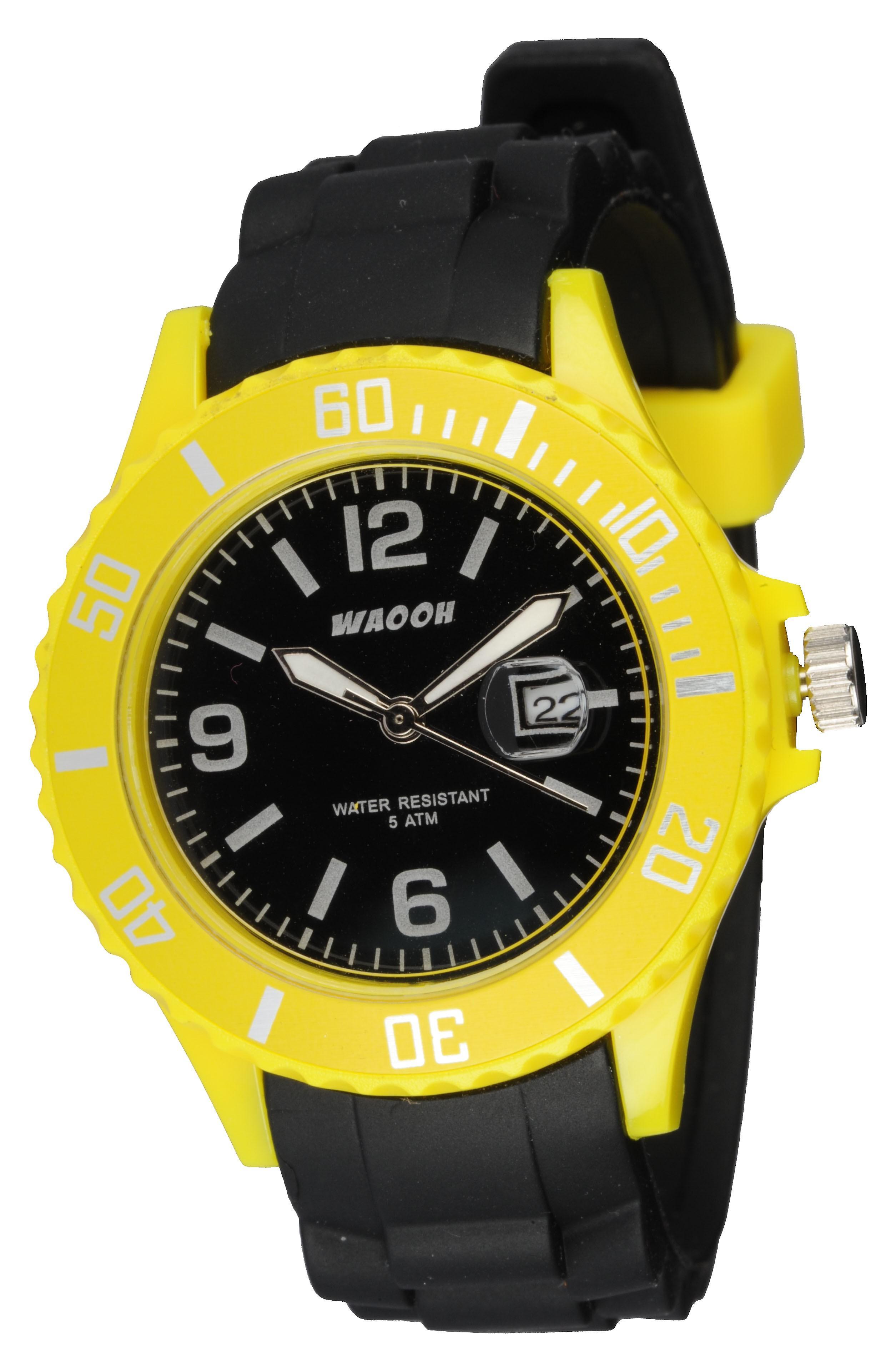 Waooh - orologi - orologio Waooh bicolore Monaco38