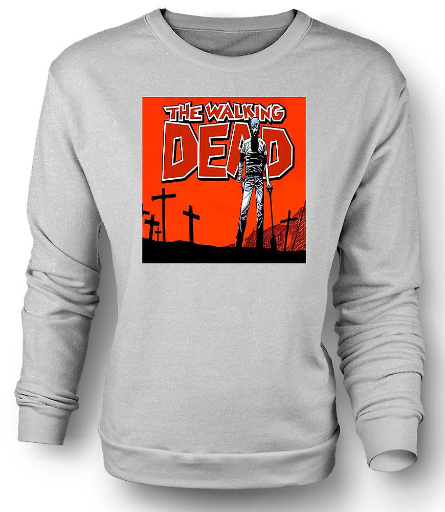 Mens Sweatshirt Zombie le Walking Dead - horreur