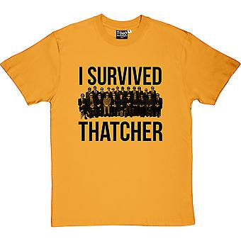 I Survived Thatcher Men's T-Shirt
