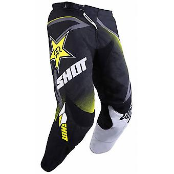 Shot Black-Yellow 2019 Rockstar 3.0 MX Pant
