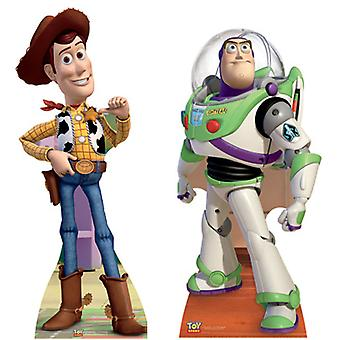 Toy Story Levensgrote Kartonnen Uitsnede / Standee Set