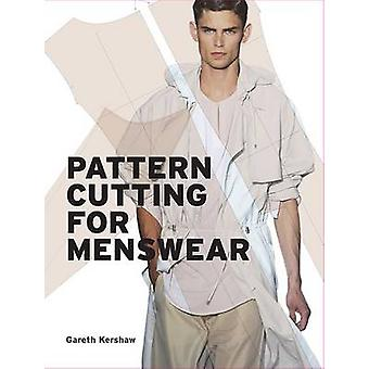 Modèle de coupe pour mode masculine par Gareth Kershaw - livre 9781780673196