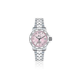 CHRIS BENZ - Taucheruhr-Armbanduhr - DIAMOND DIVER Pink Pearl Harbour - CB-DD200-R-MBJ
