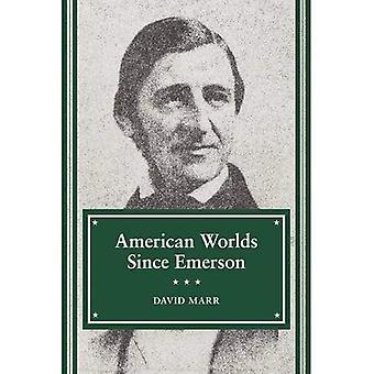Amerikanische Welten seit Emerson