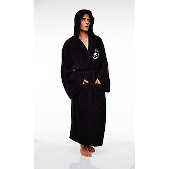 Mens Star Wars Galactic Empire Fleece Bathrobe Dressing Gown Official Licensed Merchandise