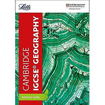 Cambridge IGCSE (TM) Geography Revision Guide (Letts Cambridge IGCSE (TM)� Revision) (Letts Cambridge IGCSE (TM) Revision)