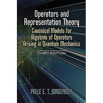 Operatörer och Representationsteori: kanoniska modeller för algebror av operatörer som uppstår i kvantmekanik