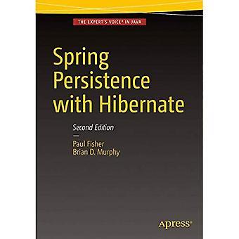 Ressort de persistance avec Hibernate: 2016