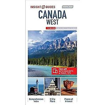 Insight Guides Travel Map Canada West (Insight Travel� Maps)