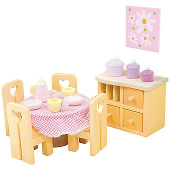 Le Toy Van Doll House Sugar Plum Dining Room