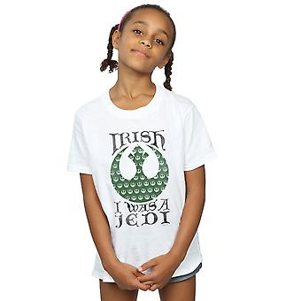 Star Wars Girls Irish I Was A Jedi T-Shirt