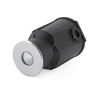 Faro - Taro Matt Nickel LED Recessed Outdoor Light FARO70449