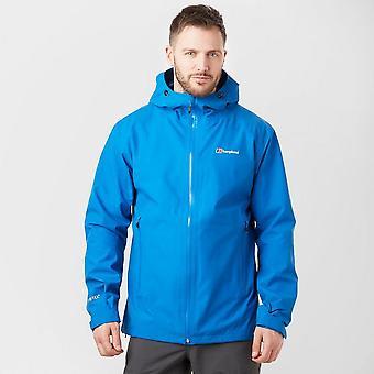 Nieuwe Berghaus mannen ' s ridgemaster Gore-Tex waterdichte jas blauw