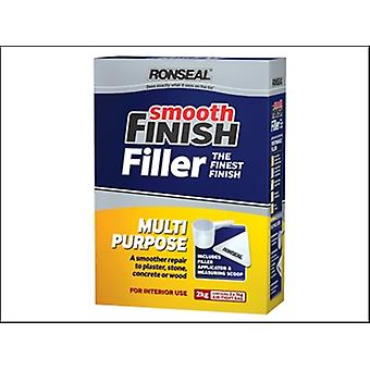 SMOOTH FINISH MULTI PURPOSE INTERIOR WALL POWDER FILLER 2 KG