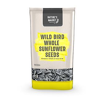 سوق طبائع 0.9 كجم (2 رطل) كيس من الأغذية الطيور البرية تغذية بذور عباد الشمس ذات الطاقة العالية
