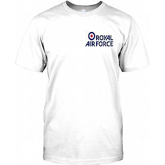 Royal Air Force - RAF bröstet logotyp Mens T Shirt