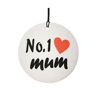 No.1 Mum Car Air Freshener