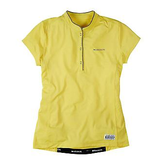 Madison Aspen Yellow 2015 Leia Womens Short Sleeved MTB Jersey