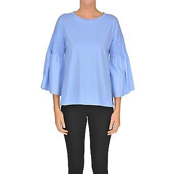 Seventy Light Blue Cotton Sweater