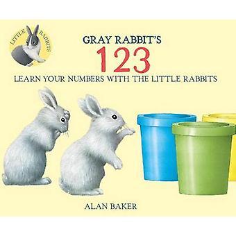 Gray Rabbit's 123 by Alan Baker - 9780753473252 Book