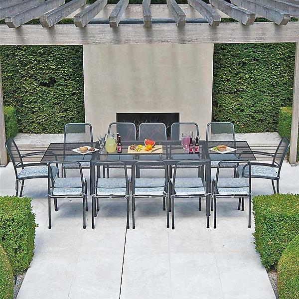 Alexander Rose Portofino 12 Seat Extending Garden Furniture Set