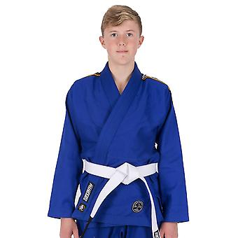 Tatami Fightwear Nova Kids absoluta BJJ Gi azul