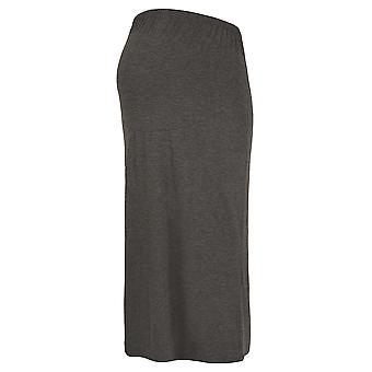 MATERNITY Grey Tube Maxi Skirt With Support Panel