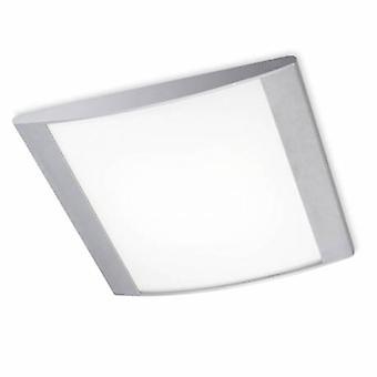 2 plafonnier clair gris clair