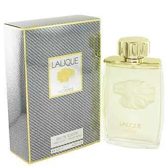 Lalique Eau De Toilette Spray (Lion) By Lalique 125 ml