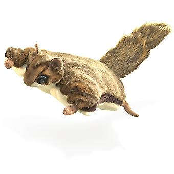 Hand Puppet - Folkmanis - Squirrel Flying New Animals Soft Doll Plush Toys 2580