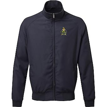 Army Legal Services - Chaqueta Harrington bordada del Ejército Británico con Licencia