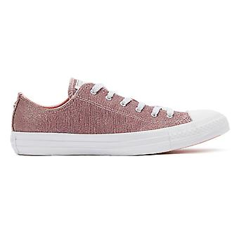 Converse Chuck Taylor All Star Womens kust roze Ox trainers