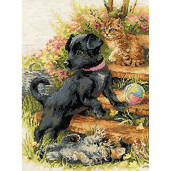 On The Holiday Counted Cross Stitch Kit-11.75