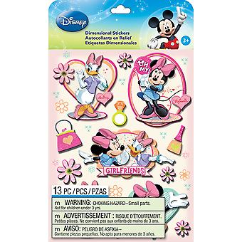 Disney Dimensional Stickers Mickey Family Girls E5150060