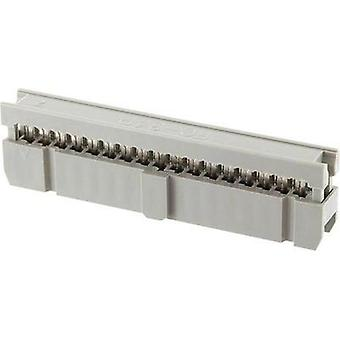Socket strip Contact spacing: 2.54 mm Total number of pins: 16 econ connect 1 pc(s)
